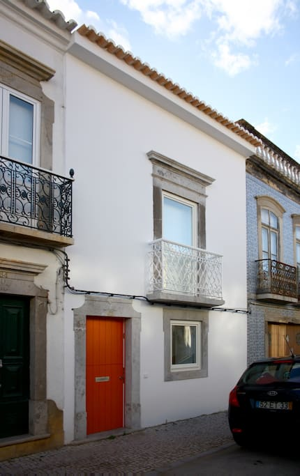 A renovated traditional townhouse in a nice street
