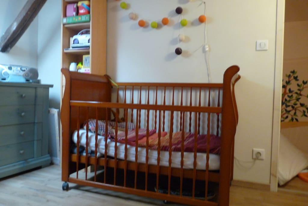 La chambre des enfants (lit 2)