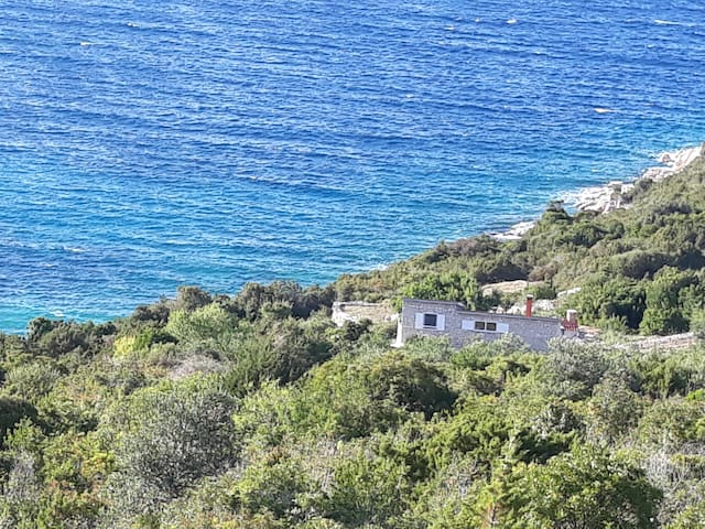 My special secluded house by  the sea