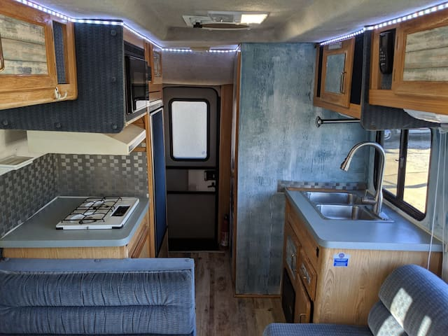 Mobile RV, Parked anywhere in the bay Area. Solar