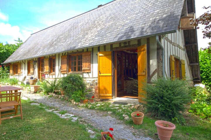 Petite maison normande à 10mn de Honfleur