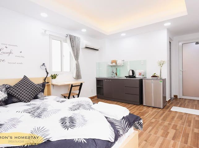 10 mins to connect to dist.1. Cozy & cheap price!