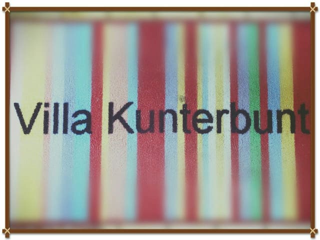 VILLA KUNTERBUNT - 卡塞爾 - 家庭式旅館