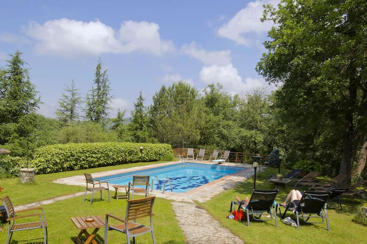 Adorable Farmhouse in Radda In Chianti with Pool