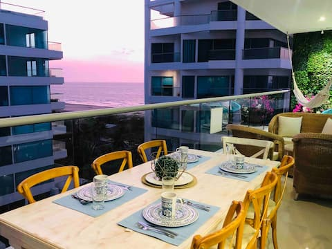 Luxury & Confort Balcony with Ocean View in Morros