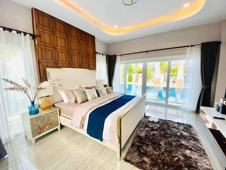 Pattaya brand-new fashion hardcover villa