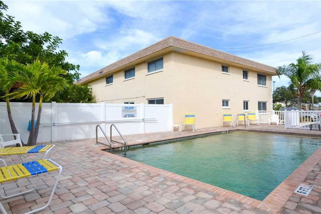 Heated Pool - Direct access from Unit Patio