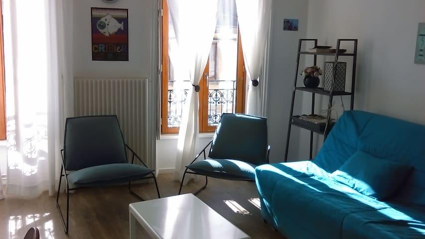 Joli logement, calme et très bien situé - Quimper - Lägenhet