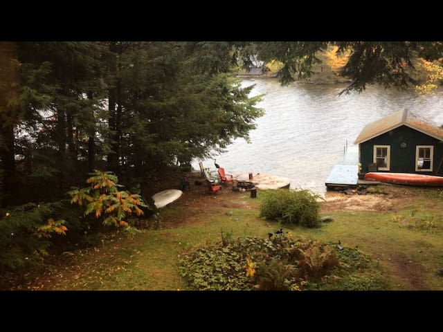 Quintessential Maine camp - Bridgton - บ้าน
