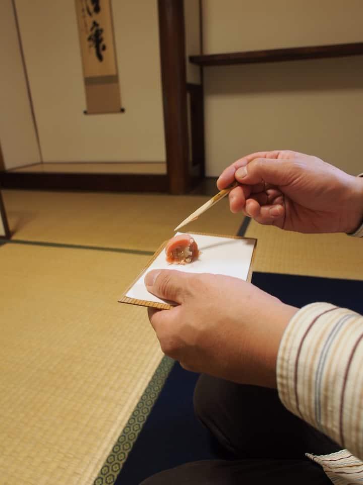 2. Guess seasonal motif of wagashi