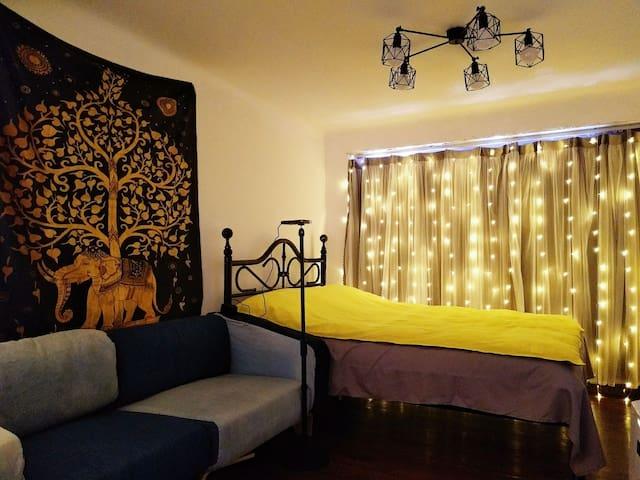 【爱巢】―fa租界巨鹿路静安寺浪漫满屋套房。位于老租界,静安商圈附近。地段超好老洋房!