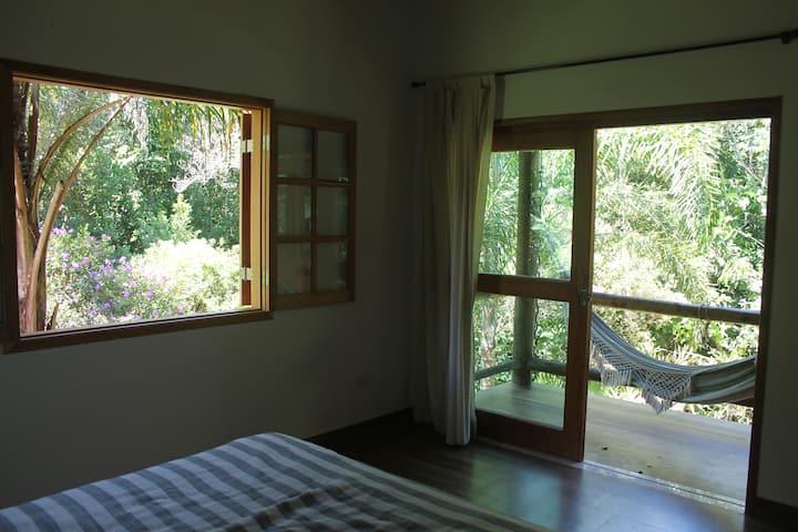 Jungle View Top Floor En-Suite in Ycatu BeachHouse