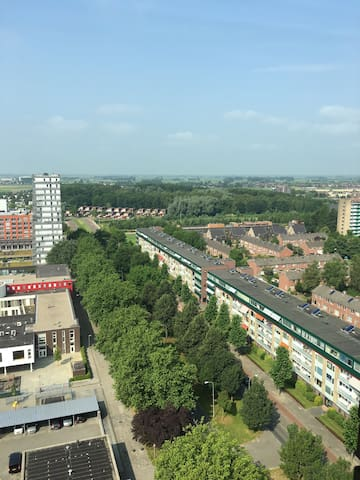 Penthouse in de stad Groningen. - Groningen - Byt