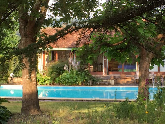 Farmhouse, private pool & garden - Sauveterre-de-Béarn - 獨棟