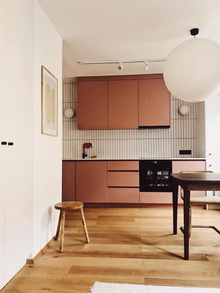 Stylish new Apartment / Yppenplatz
