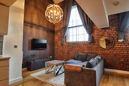 Luxury Duplex City Centre Apartment nr the Arena - Manchester - Byt