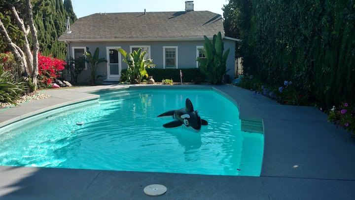 New Santa Monica HsePLUS PoolHse/Swim Pool/Hot Tub