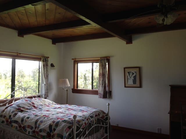 Windspirit Cottage Private room - Keaau - Apartamento