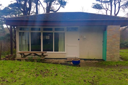 2 Bed Holiday bungalow by woodland,Nr St Ives - Lelant