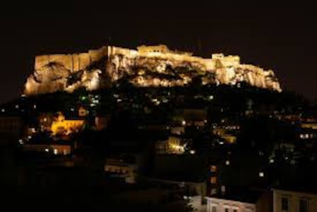 Acropolis nightshooting