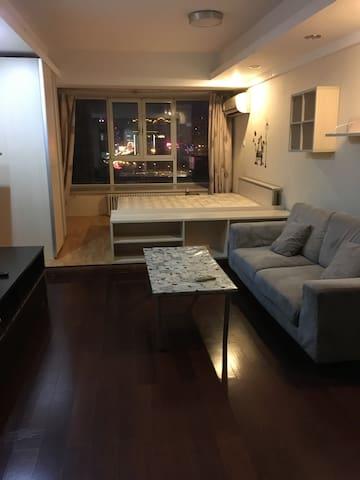 曼哈顿酒店公寓 - 青岛 - Apartament