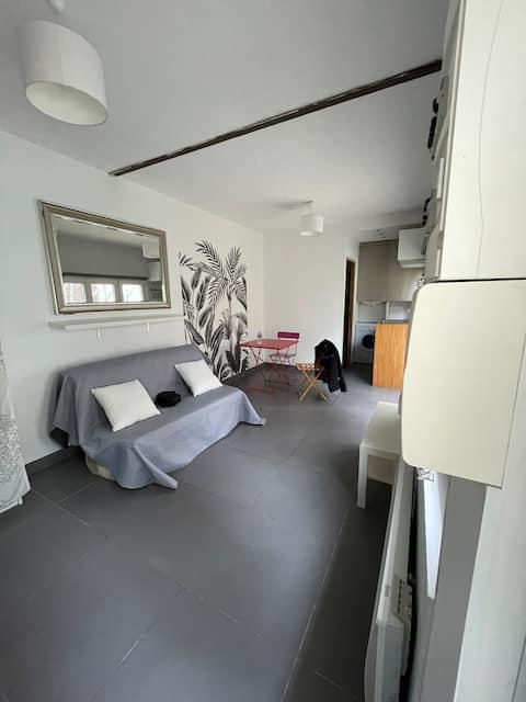 Merlimont studio de 20 m2 à 100 mètres de la plage