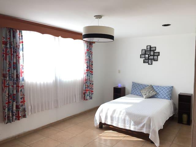 Private bedroom at Colinas del Parque