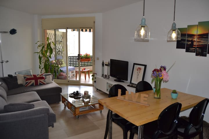 Habitación doble en Tarragona centro con piscina - Tarragone - Appartement