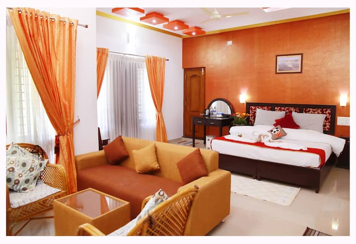 Super deluxe double room at Thekkady