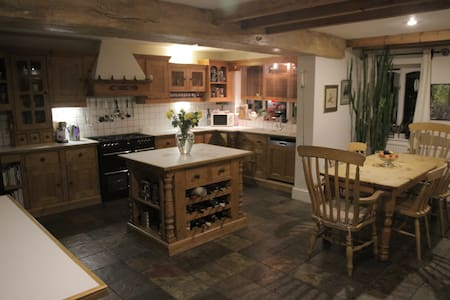 Farmhouse house conversion in countryside village - Quorn - Hus