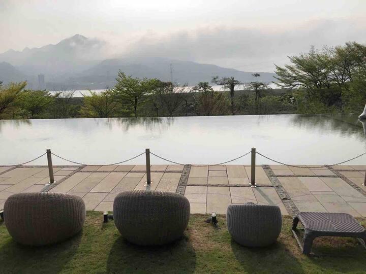 紅樹林高級住宅 管理員 停車場 游泳池 溫泉 Hongshulin Luxury Condo