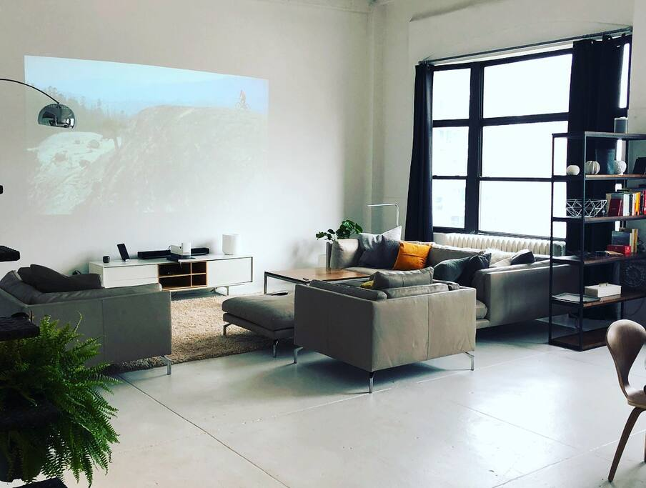 Large Projection TV