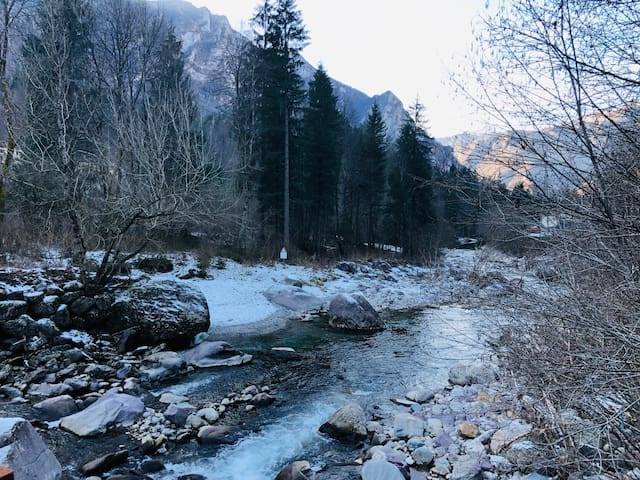 Casa Vacanza in Val Brembana - La Casa sul fiume