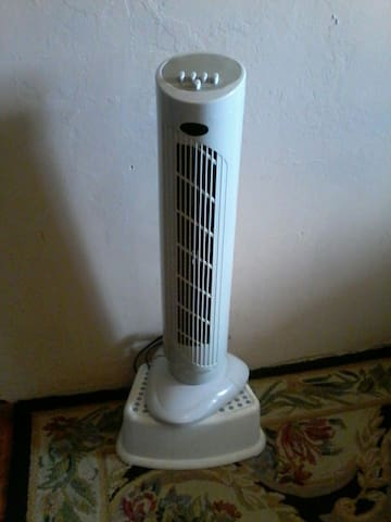 2 fans for added comfort / 2 ventiladores