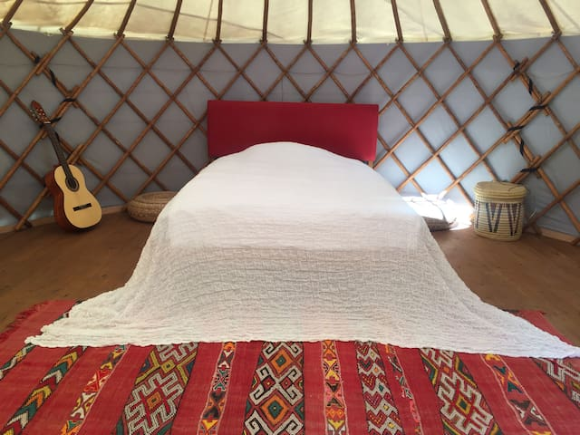 The yurt at the end of the universe