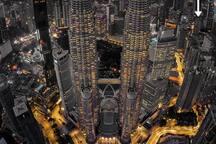 Petronas Twin Towers. 600 meters. 12 minutes walk.