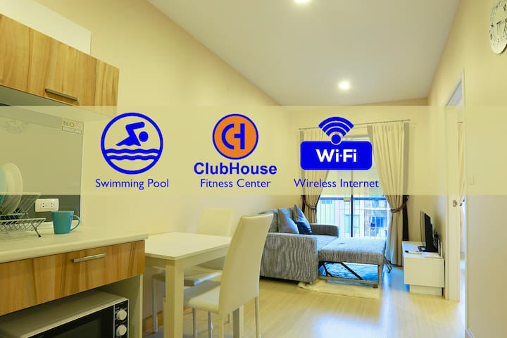 Tranquil Life near Big Mall & Street Food Market - Nonthaburi - Condominio