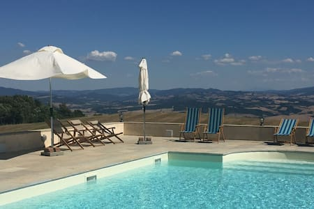 "Unforgettable Tuscan Maremma Views - ""Gli Ulivi"" - Montecatini Val di Cecina"