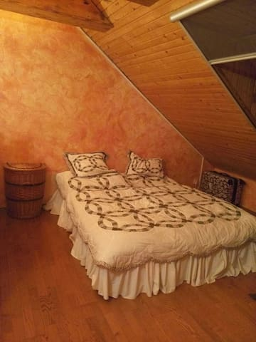 Cozy attic apartment near Vienna - Rovinka - 獨棟
