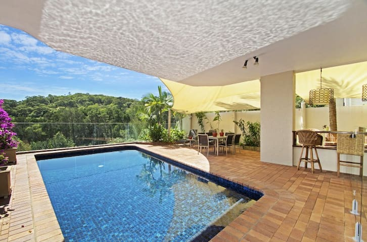 Noosa Tree Top Apartment with pool - Noosa Heads - Apartemen