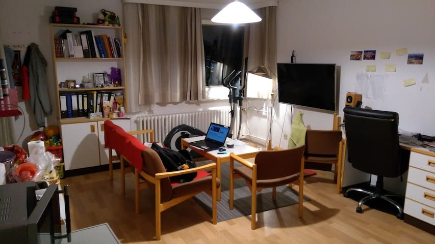 Apartment for a single or two for a good stay
