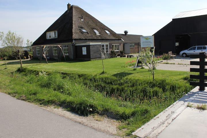 Appartement op boerderij voor max 6 tot 8 personen - Schoorl - Condominio