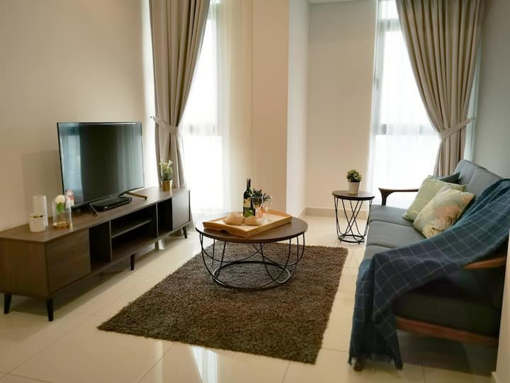 Disinfection VIVO 2Beds Cozy Suite 4pax Midvalley