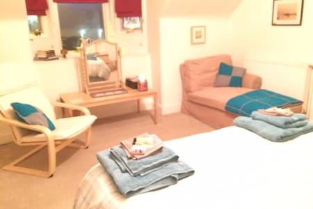 Spacious double bedded room. - Crieff