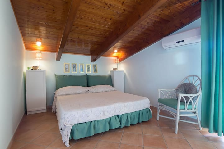 camera verde - Santa Maria - 家庭式旅館