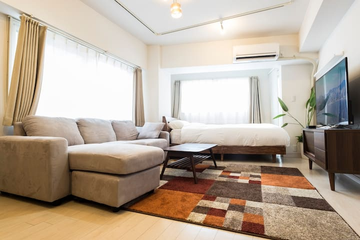 5mins from Shibuya/1min from station/Pocket wifi