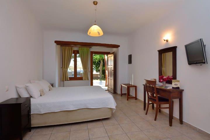 """Standard Double  Garden View Room """"ΜΕΛΠΟΜΕΝΗ - MELPOMENE"""""""