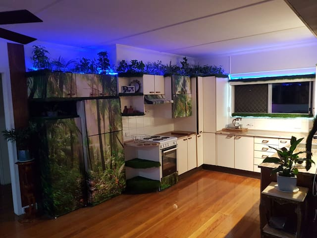 Beautiful Brisbane Basecamp- Rainbow Rainforest