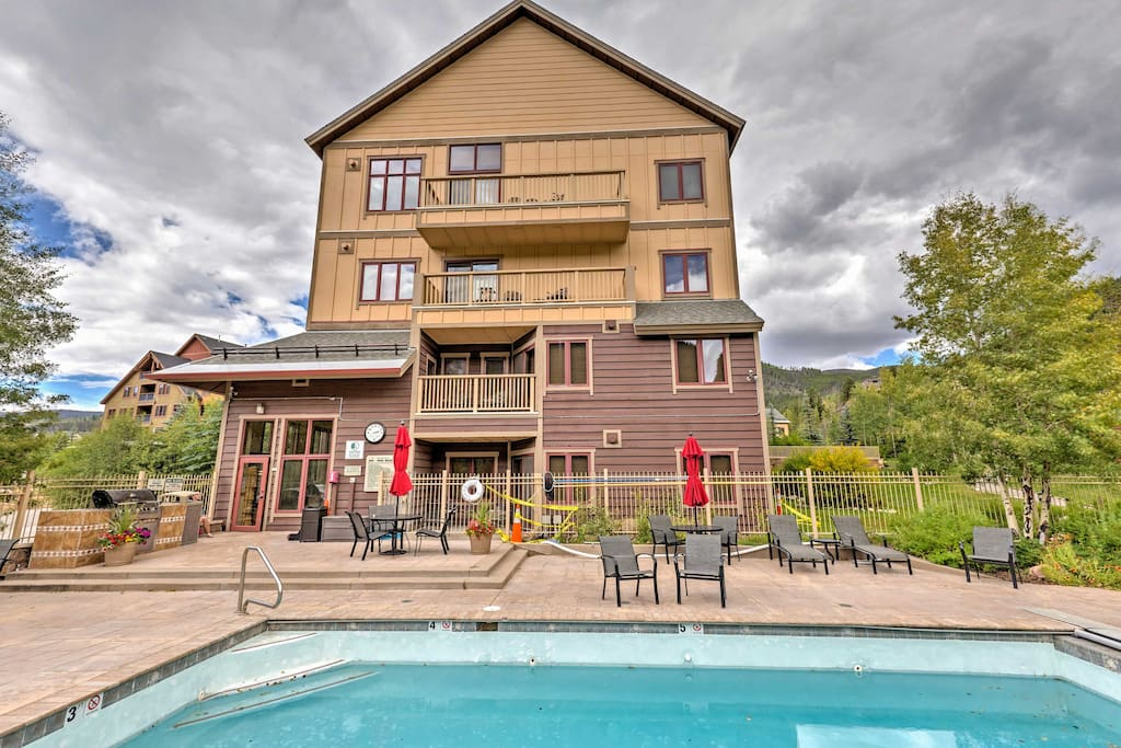 You'll love the location and the cozy feel of this Keystone vacation rental!
