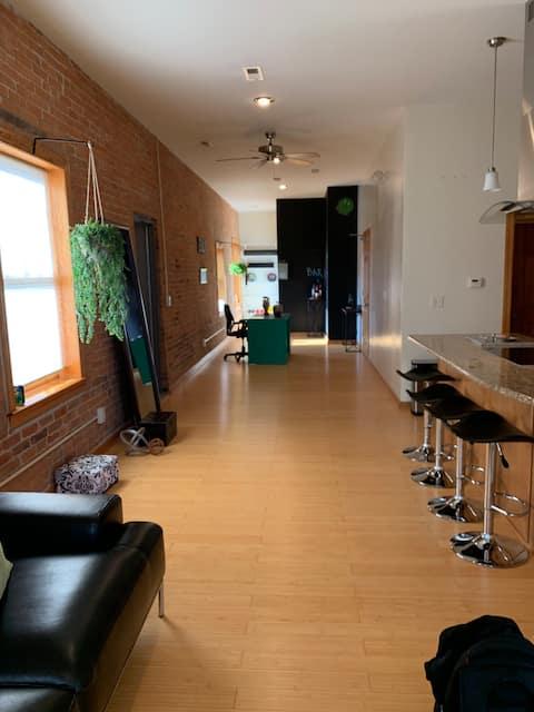 Entire Apartment- Loft/Studio Style